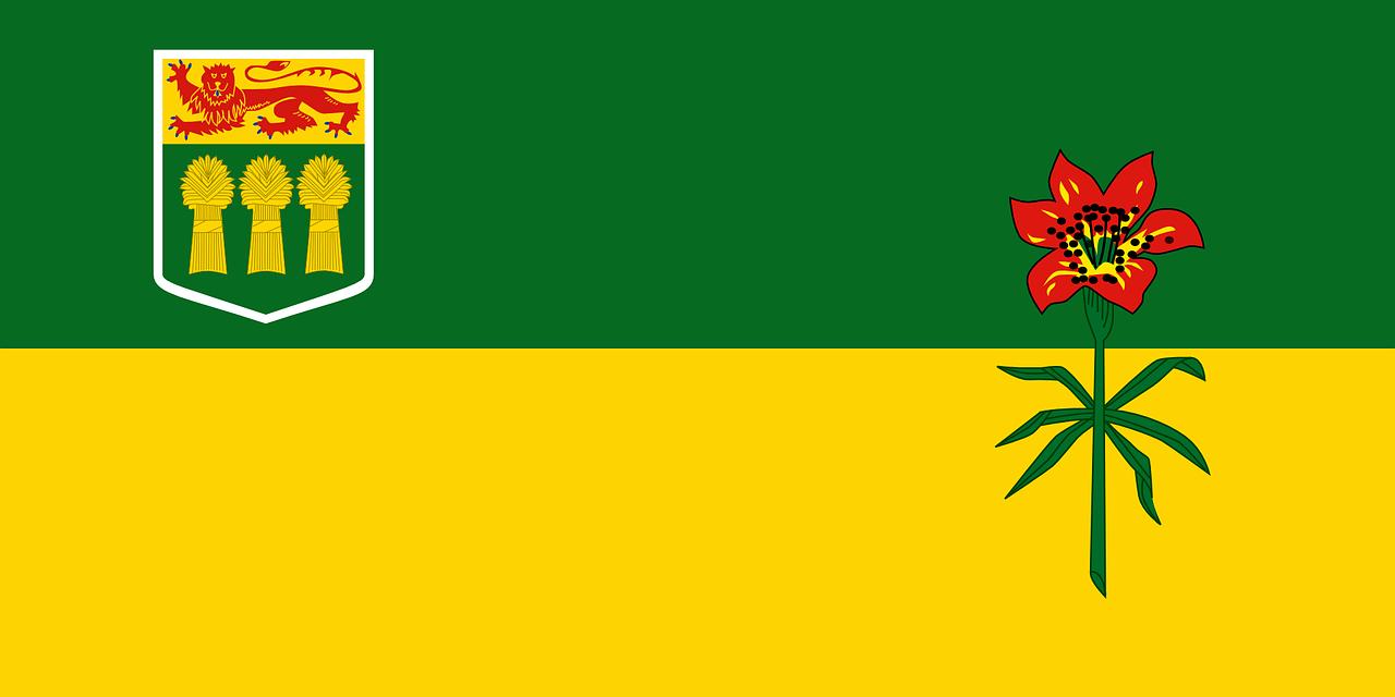 saskatchewan flag cultural bridges saskatoon